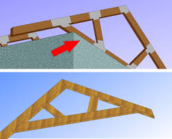 How To Build A Simple Storage Shed by How To Build A Simple Wood Truss 14 Steps With Pictures