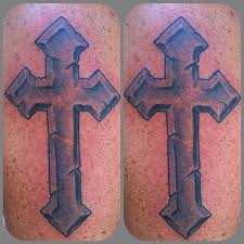 cross tattoos by stowell