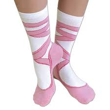 halloween knee socks amazon com bits and pieces novelty socks ballerina silly