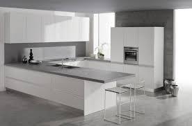 white and grey kitchen ideas kitchen white cabinets chairs grey floor counter lentine marine