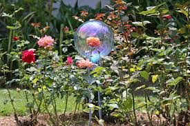 Gazing Balls Garden Southern Lagniappe Curb Appeal Southern Style