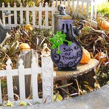 halloween creepy witch potion bottles polyresin party decoration
