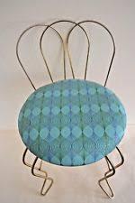 Vintage Vanity Chair Vintage Metal Stool Ebay