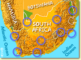 africa map climate zones climate in south africa