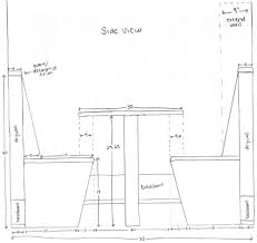 bench bench height and width counter height bench for bar width