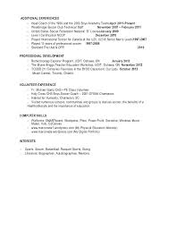 college basketball coaching resume examples qualifications sample