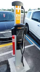 electric vehicles charging stations magic kingdom parking lot adding electric vehicle charging stations