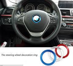 volante bmw x3 bm volante decorationg adesivo anello di alluminio della