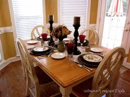 decorate how to decorate dining table when not in use dining room table