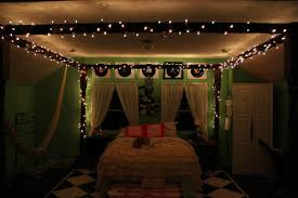twinkle lights on bedroom ceiling inspirations with decor