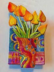 Polymer Clay Vases Polymer Clay Bytes Tina Holden U0027s Beadcomber Polymer Clay On
