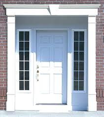 amazing front door trim designs gallery exterior ideas 3d gaml