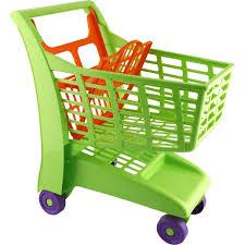 siège bébé caddie chariot de supermarché vert la grande récré vente de jouets et