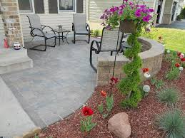 Home Yard Design Yard Design Ideas Front Patio I Love The Idea Of A Low Wall