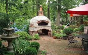 Building A Backyard Pizza Oven by Outdoor Brick Ovens U2022 Nifty Homestead