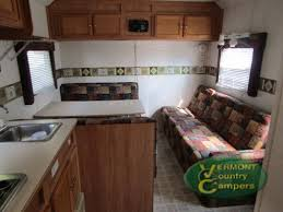 Vermont Country Kitchen - used 2005 roadmaster campmaster 8524 toy hauler travel trailer at