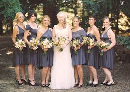 gray bridesmaid dress charcoal gray bridesmaid dress