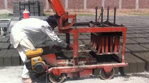 concrete block making machine chiniot youtube