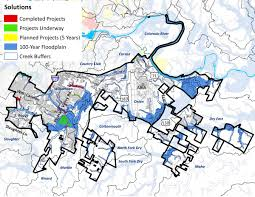 Austin Flood Map by District 2 Watershed Profile Watershed Protection Austintexas