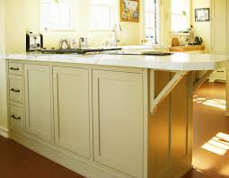 15 unique kitchen island design ideas style motivation kitchen the peninsula features three drawers finished panels and an overhang with decorative custom brackets