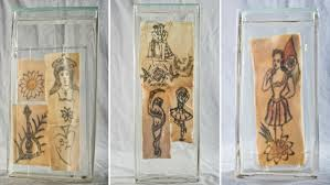portugal is exhibiting human skin with smutty old tattoos public