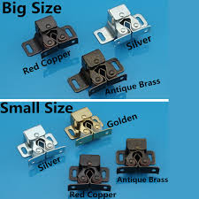 aliexpress com buy 20pcs double roller bronze plate door latch