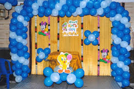 balloon arrangements for birthday birthday decoration with balloons at home image inspiration of