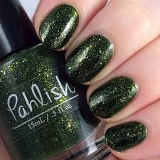 pahlish papakolea beach bespoke flakie nail polish pahlish