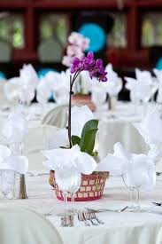 orchid centerpiece orchid centerpiece on wedding tables stock photo image of