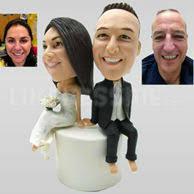 cake toppers bobblehead wedding bobbleheads custom wedding bobbleheads 25
