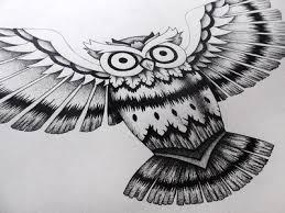 owl tattoo design by orhan ata dribbble