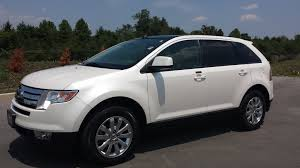 sold 2010 ford edge sel white platinum fwd 57k 1 owner for sale