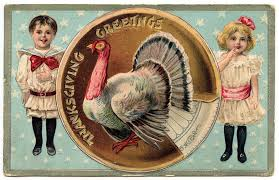 free vintage clip cutest thanksgiving postcard the graphics