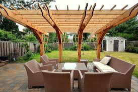 Simple Backyard Patios Roof How To Build A Patio Roof Compelling How To Install