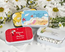 mint to be favors wedding personalized mint tins exclusive designs
