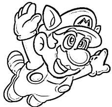 mario characters coloring pages funycoloring