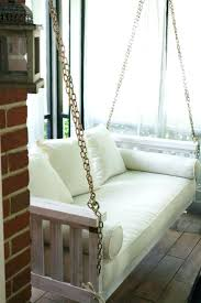 round porch swing bed for sale outdoor mattress cover cushions