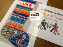 personalized needlepoint needlepoint kits and canvas designs