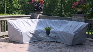 How To Make Sofa Covers How To Make A Cover For A Curved Patio Set Sewing Outdoor
