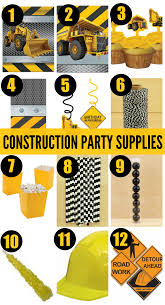 construction party supplies 7 must haves for your construction birthday party catch my party