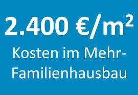 baukosten pro qm wohnfläche 2 400 qm kosten im mehrfamilienhausbau zentralverband
