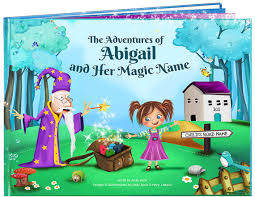 My Magic Name Personalised Story Books A Fab 1st Birthday Gift A Personalised Story Book