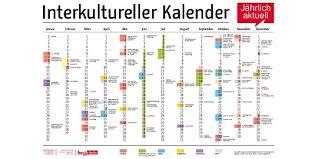 Kalender 2018 Für österreich Interkultureller Kalender Berlin De