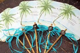 Fan Program Tropical Beach Themed Wedding Fan Program Yelp