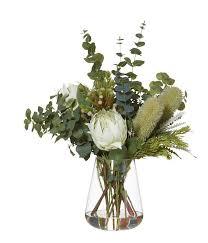 protea flower protea banksia mix artificial flower arrangement