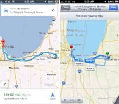 Google Maps Route by Apple Maps Vs Google Maps Pictures Science And Technology