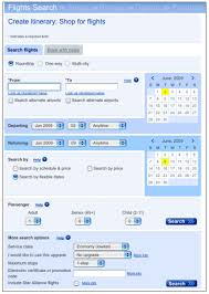 user guide for a flexible dates search on united airlines blog