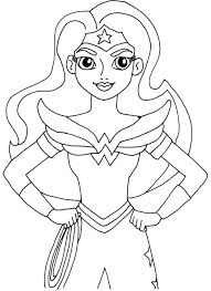 free printable super hero coloring pages batgirl