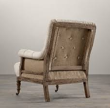 Armchair Frame Deconstructed Tufted Roll Armchair