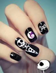 35 black nail art designs for girls randomlynew